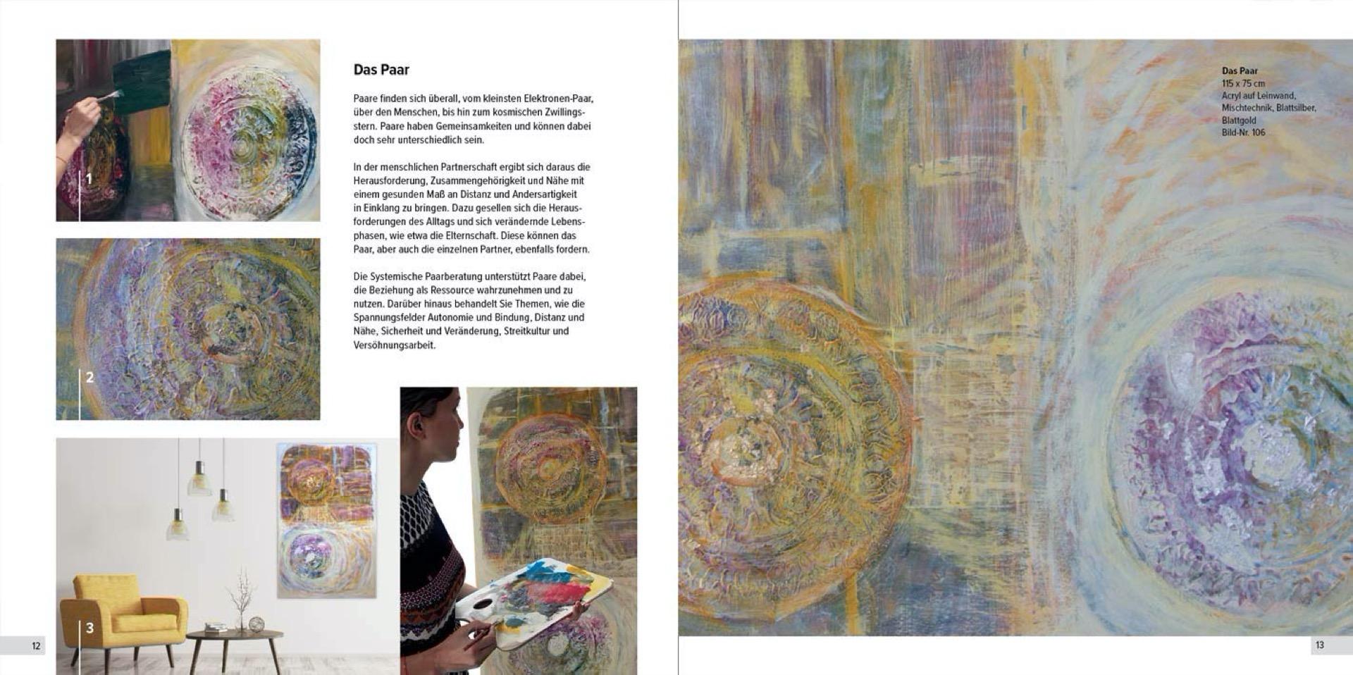 """Buch: """"Jedes Kunstwerk hat, dem Menschen gleich, eine einzigartige Geschichte zu erzählen."""" – Eine (systemische) Bilderreise"""