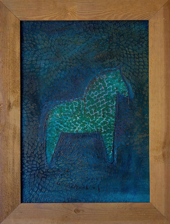 Das blaue Pferd